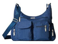 Baggallini Everywhere Bagg Pacific Cross Body Handbags Blue