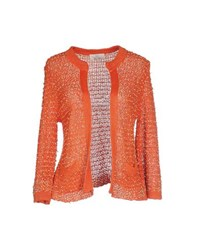 Swap Inside Knitwear Cardigans Women Orange