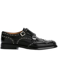 Church's 'Lana' Monk Strap Shoes Black