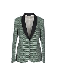 Brian Dales Suits And Jackets Blazers Women Turquoise
