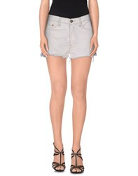 Htc Denim Denim Shorts Women White