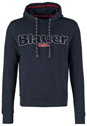 Blauer Sweatshirt Navy Dark Blue