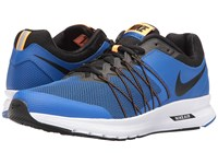 Nike Air Relentless 6 Hyper Cobalt Bright Citrus White Black Men's Running Shoes Blue