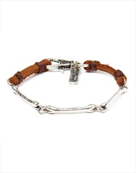 Icon Brand Bracelet With Bones Links