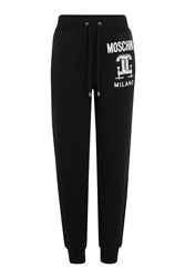 Moschino Jersey Sweatpants Black