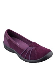Easy Spirit Kaali Suede Flats Purple
