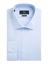 Paul Costelloe Slim Fit Blue Single Cuff Shirt