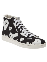 Comme Des Garcons Play 'Pro Star Hi' Sneakers Black