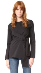 Just Female Sunday Blouse Black