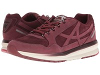 Allrounder By Mephisto Kalibra Wine G Nubuck Suede Women's Lace Up Casual Shoes Burgundy