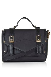Topshop Smart Satchel Black