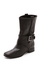 Belle By Sigerson Morrison Who Leather Wrap Boots Black