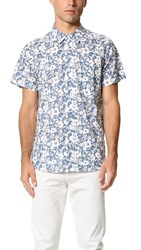 Baldwin Denim Miles Short Sleeve Shirt Floral