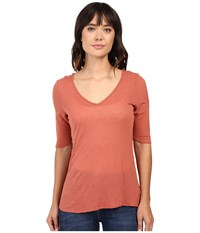Project Social T Taylor Cold Shoulder Spice Women's Clothing Red