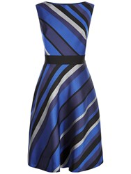 Fenn Wright Manson Space Dress Black Blue