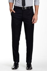 Gi Capri Flat Front 1 4 Top Pocket Wool Pant Black