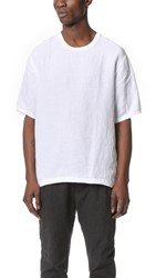 Shades Of Grey Short Sleeve Woven Tee White