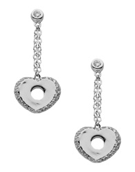 Ted Lapidus Earrings Silver