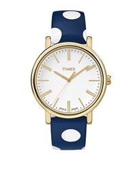 Timex Originals Polka Dot Watch Blue