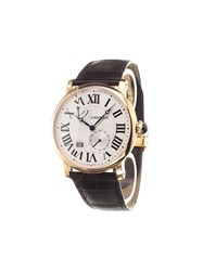 Cartier 'Rotonde 8 Days Power Reserve Rose Gold' Analog Watch