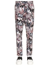 Valentino 18Cm Japanese Printed Drill Pants