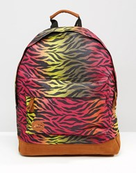 Mi Pac Leopard Print Backpack Leopard Multi