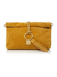 Biba Foldover Shoulder Bag Mustard