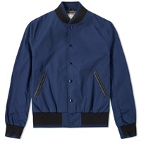 Golden Bear Sportswear Salesian Varsity Jacket Blue