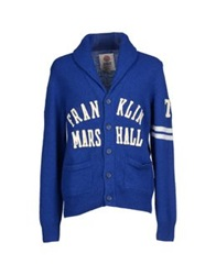 Franklin And Marshall Cardigans Bright Blue