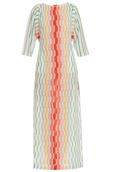 Missoni Lurex Geo Long Kaftan Dress