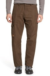 Fjall Raven Men's Big And Tall Fj Llr Ven ' Vik' Cargo Pants Dark Olive