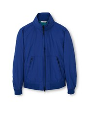 Mango Men's Ultra Light Hooded Windbreaker Blue