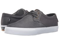 Lakai Mj Weather Treated Charcoal Oiled Suede Men's Skate Shoes Black