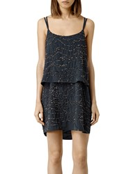 Allsaints Ales Dress Gun Metal