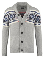 Kaporal Nine Cardigan Light Grey Melanged Mottled Light Grey