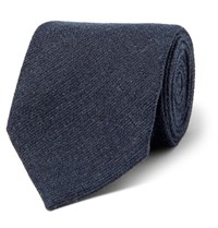 Tom Ford 8Cm Cashmere Tie Navy
