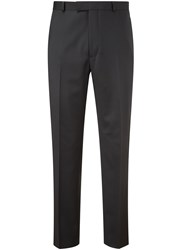 Austin Reed Gabardineslim Fit Suit Trousers Black