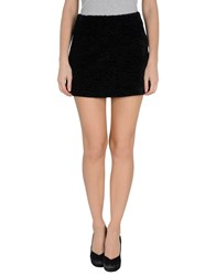 Space Style Concept Skirts Mini Skirts Women Black