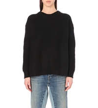 Marc By Marc Jacobs Nora Crew Neck Jumper Black