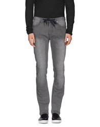 Element Denim Denim Trousers Men Grey