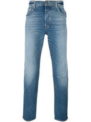 Hudson Slim Fit Jeans Blue