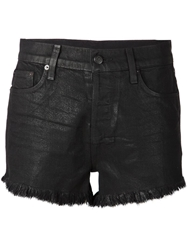 Ksubi Fringed Denim Shorts