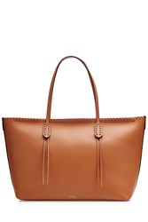 Polo Ralph Lauren Leather Tote Brown