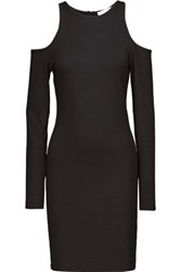 Kain Label Hillary Cutout Stretch Modal Dress Black