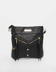 Carvela Aaliyah Messenger Cross Body Bag Black