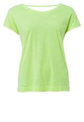 Only Play Onpann Basic Tshirt Neon Yellow