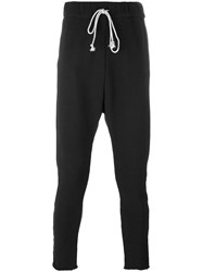 Poeme Bohemien Drawstring Sweatpants Black
