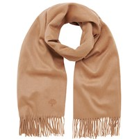 Mulberry Cashmere Scarf Oatmeal