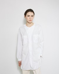 Orslow Long Work Shirt White