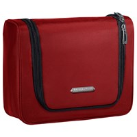 Briggs And Riley Transcend Hanging Wash Bag Crimson Red